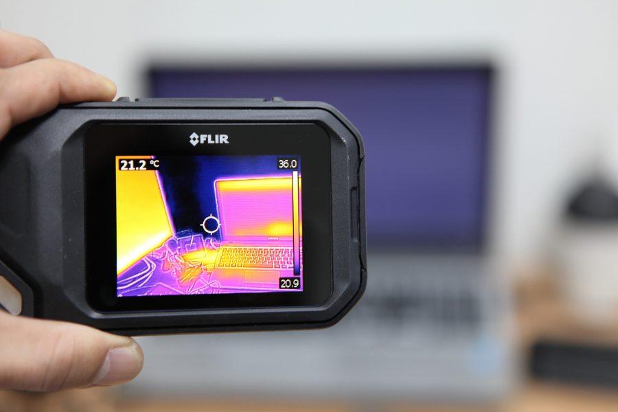 Prüfungen von Elektroanlagen mit Wärmebildkameras